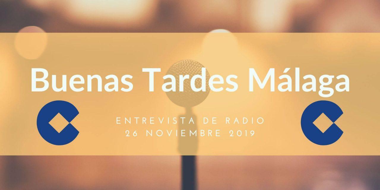Entrevista en Buenas Tardes Málaga