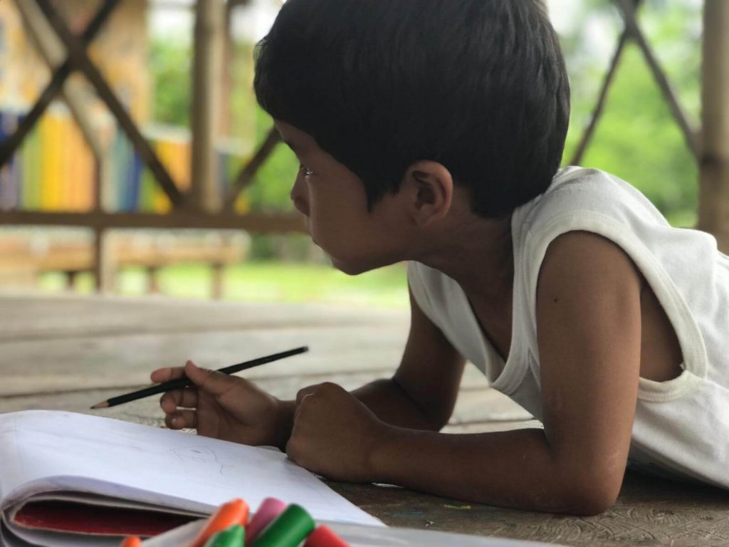 Iquitos Project - Workshops in the School