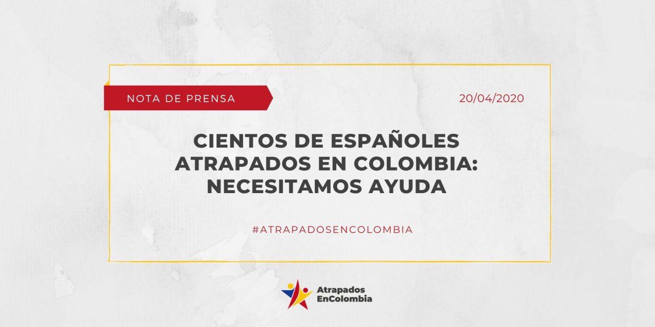 Cientos de españoles atrapados en colombia: Necesitamos ayuda