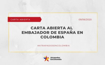 Carta abierta al Embajador de España en Colombia