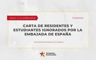 Carta Residentes y Estudiantes