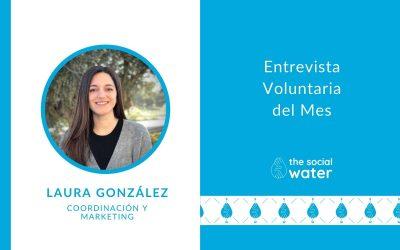 Voluntaria del mes: Laura González, coordinación y MARKETING