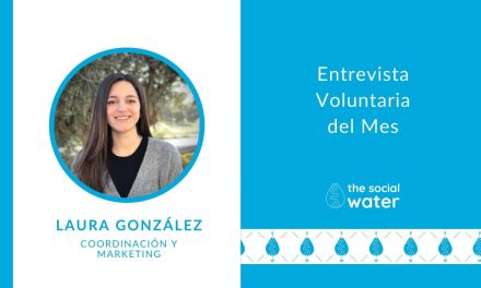 Voluntaria del mes: Laura, coordinación y MARKETING
