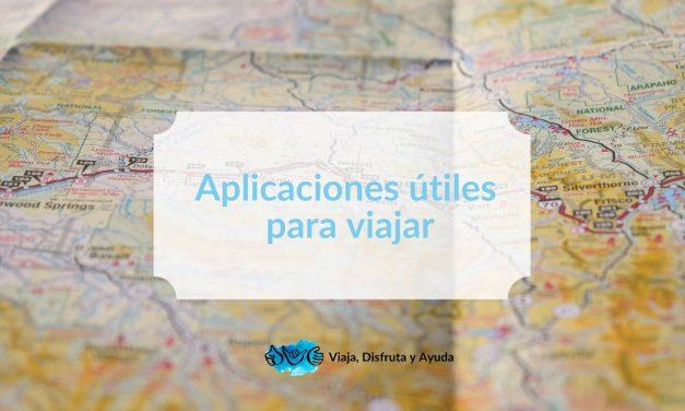 Aplicaciones útiles para viajar