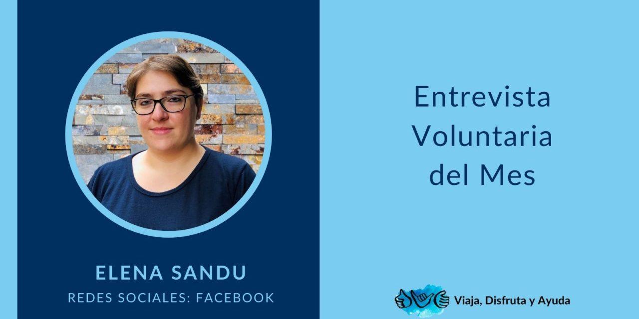 Voluntaria del mes: Elena Sandu, Facebook