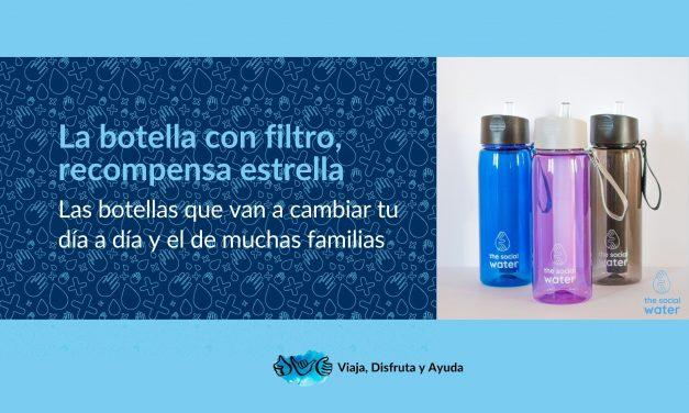 La botella con filtro, recompensa estrella en The Social Water