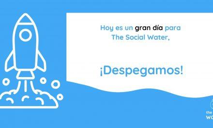 The Social Water: lanzamiento de la web