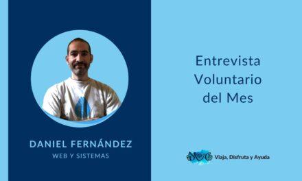 VOLUNTARIO DEL MES: Daniel, web y sistemas