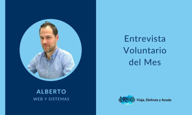 VOLUNTARIO DEL MES: Alberto Gil, web y sistemas