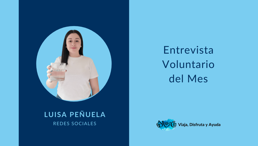 Voluntaria del mes: Luisa, de redes sociales