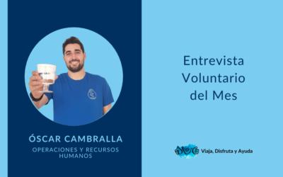 VOLUNTARIo DEL VERANO: Óscar, operaciones y recursos humanos